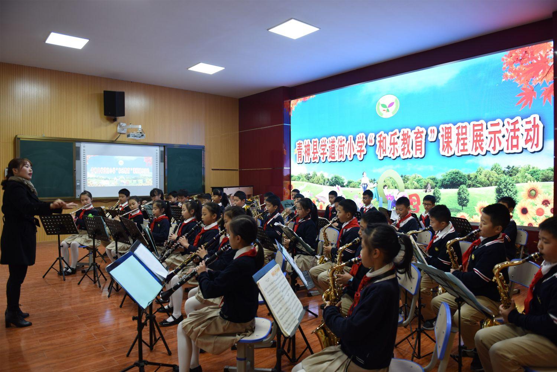 学道街小学和乐课堂:管弦社团展示.JPG